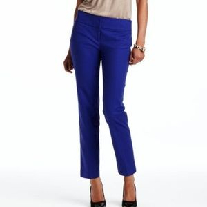 LOFT Royal Blue Marissa Fit Pants